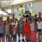 2014, Breanna Sewell with her family at her College Graduation Party
