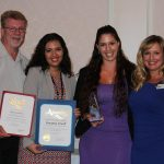 """2015, Breanna Sewell with Senate, Assembly and Desert Hot Springs Chamber Representatives at the 2015 Star Awards where Breanna received the """"2015 Business Person of the Year"""" and her business, TOP Shop, received """"2015 Small Business of the Year"""""""