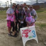 2015, Breanna participated in the ColorVibe 5K with friends