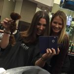 2016, Breanna Sewell donated 12 inches of her hair to Pantene Beautiful Lengths, who makes wigs out of the donations for cancer patients.