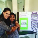 2016, Breanna Sewell with Genesys, a young lady involved with LiLaC in Desert Hot Springs