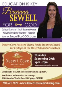 Sewell For COD Desert Cove