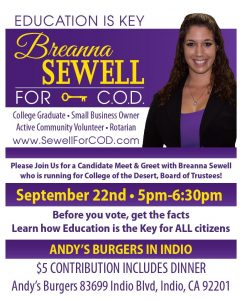 Breanna Sewell for C.O.D.